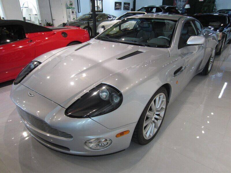 2003 Aston Martin V12 Vanquish for sale at Auto Sport Group in Delray Beach FL