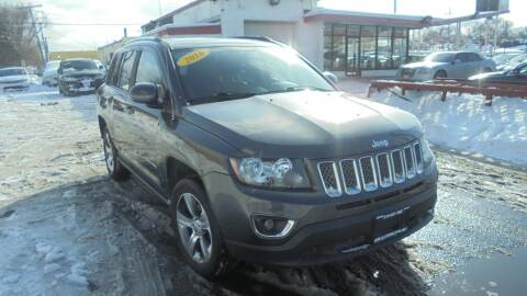 2016 Jeep Compass for sale at Absolute Motors in Hammond IN