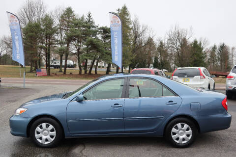 2003 Toyota Camry for sale at GEG Automotive in Gilbertsville PA