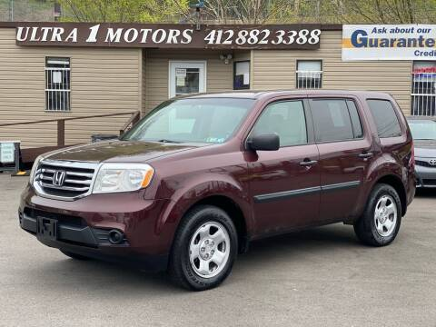 2015 Honda Pilot for sale at Ultra 1 Motors in Pittsburgh PA