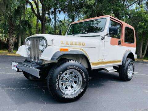 1983 Jeep CJ-7 for sale at PennSpeed in New Smyrna Beach FL