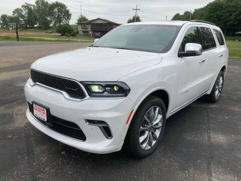 2021 Dodge Durango for sale at Louisburg Garage, Inc. in Cuba City WI