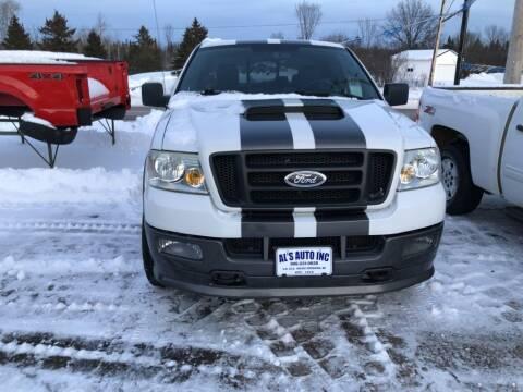 2005 Ford F-150 for sale at Al's Auto Inc. in Bruce Crossing MI