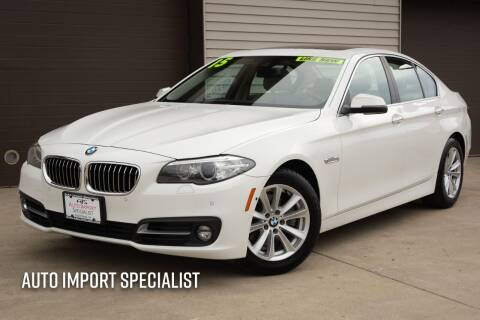 2015 BMW 5 Series for sale at Auto Import Specialist LLC in South Bend IN