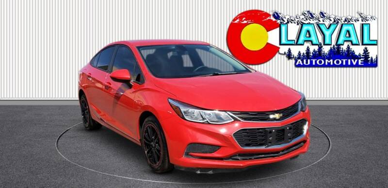 2017 Chevrolet Cruze for sale at Layal Automotive in Englewood CO