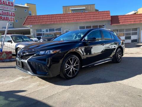 2021 Toyota Camry for sale at STS Automotive in Denver CO