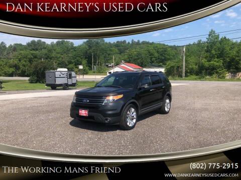 2013 Ford Explorer for sale at DAN KEARNEY'S USED CARS in Center Rutland VT
