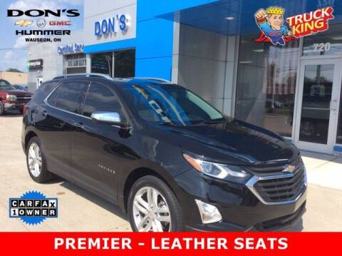 2018 Chevrolet Equinox for sale at DON'S CHEVY, BUICK-GMC & CADILLAC in Wauseon OH