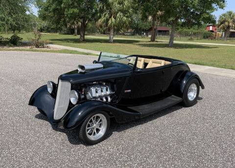 1933 Ford Roadster for sale at P J'S AUTO WORLD-CLASSICS in Clearwater FL