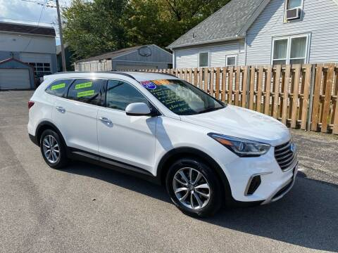 2017 Hyundai Santa Fe for sale at PEKIN DOWNTOWN AUTO SALES in Pekin IL