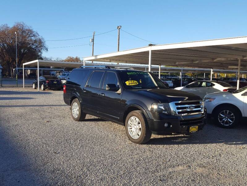 2013 Ford Expedition EL for sale at Bostick's Auto & Truck Sales in Brownwood TX