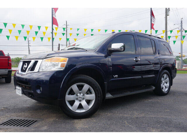 2008 Nissan Armada for sale at Maroney Auto Sales in Humble TX