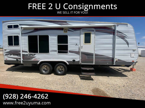 2012 Forest River Stealth for sale at FREE 2 U Consignments in Yuma AZ