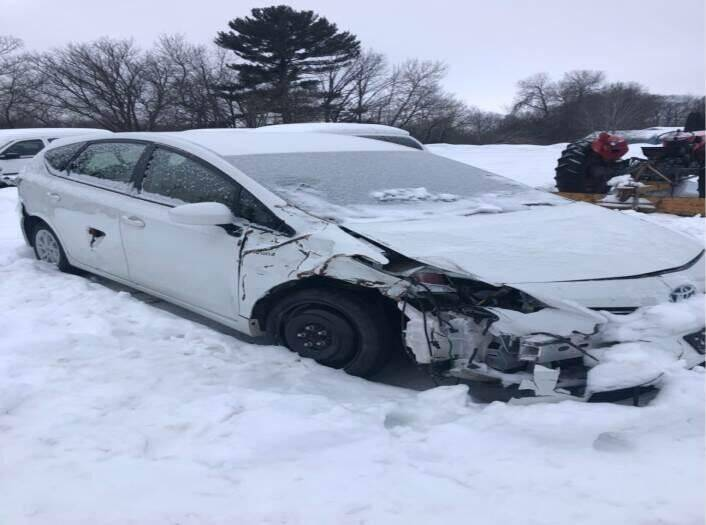 2014 Toyota Prius v for sale at CousineauCrashed.com in Weston WI