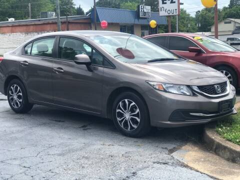 2013 Honda Civic for sale at Apex Knox Auto in Knoxville TN