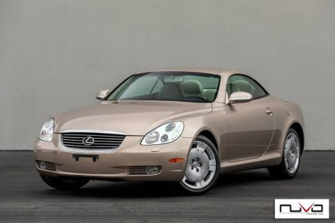 2005 Lexus SC 430 for sale at Nuvo Trade in Newport Beach CA