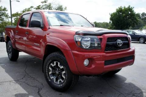 2010 Toyota Tacoma for sale at CU Carfinders in Norcross GA