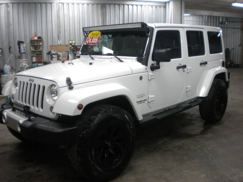 2014 Jeep Wrangler Unlimited for sale at Houser & Son Auto Sales in Blountville TN