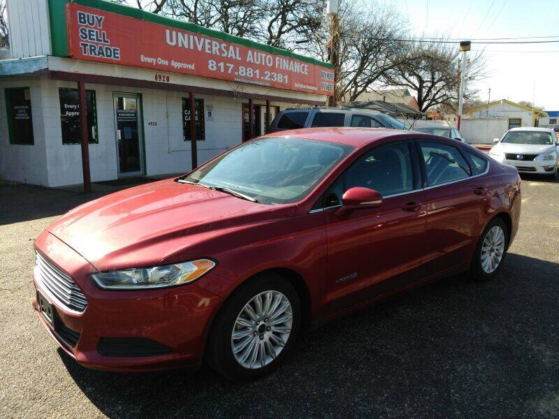 2016 Ford Fusion Hybrid for sale in Haltom City, TX