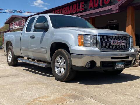2013 GMC Sierra 1500 for sale at Affordable Auto Sales in Cambridge MN