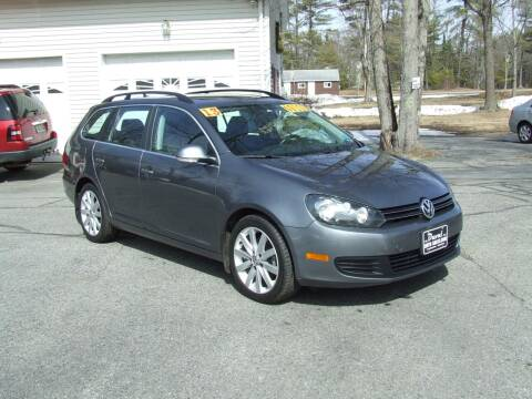 2013 Volkswagen Jetta for sale at DUVAL AUTO SALES in Turner ME