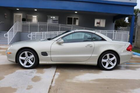 2003 Mercedes-Benz SL-Class for sale at PERFORMANCE AUTO WHOLESALERS in Miami FL