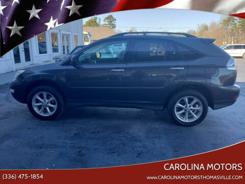 2009 Lexus RX 350 for sale at CAROLINA MOTORS in Thomasville NC