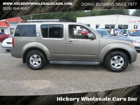 2006 Nissan Pathfinder for sale at Hickory Wholesale Cars Inc in Newton NC