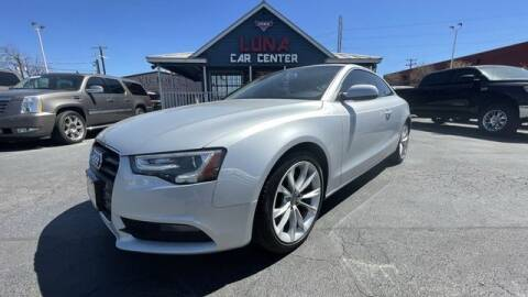 2014 Audi A5 for sale at LUNA CAR CENTER in San Antonio TX