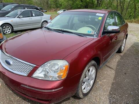 2006 Ford Five Hundred for sale at Trocci's Auto Sales in West Pittsburg PA