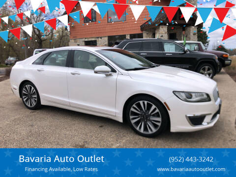 2017 Lincoln MKZ for sale at Bavaria Auto Outlet in Victoria MN