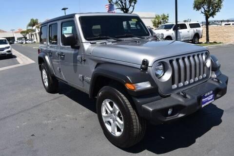 2019 Jeep Wrangler Unlimited for sale at DIAMOND VALLEY HONDA in Hemet CA