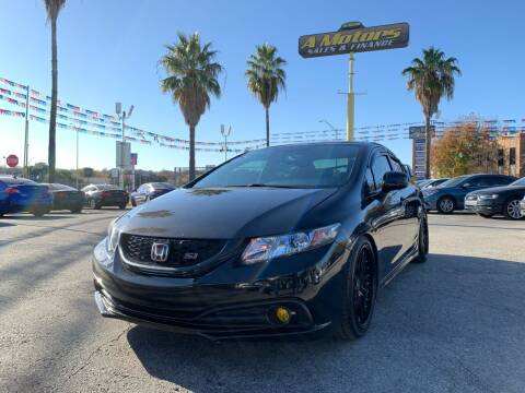 2013 Honda Civic for sale at A MOTORS SALES AND FINANCE in San Antonio TX