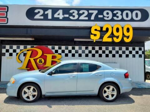 2013 Dodge Avenger for sale at www.rnbfinance.com in Dallas TX