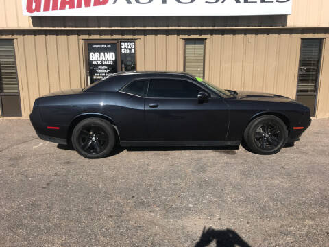2017 Dodge Challenger for sale at GRAND AUTO SALES in Grand Island NE