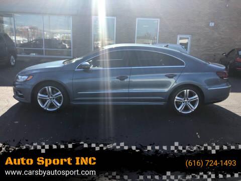 2016 Volkswagen CC for sale at Auto Sport INC in Grand Rapids MI