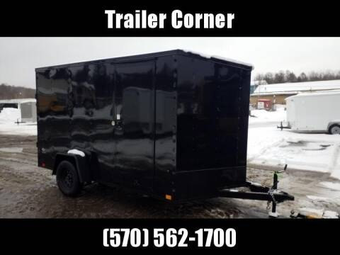 2021 Look Trailers STLC 7X12 - EXT HEIGHT - RAMP
