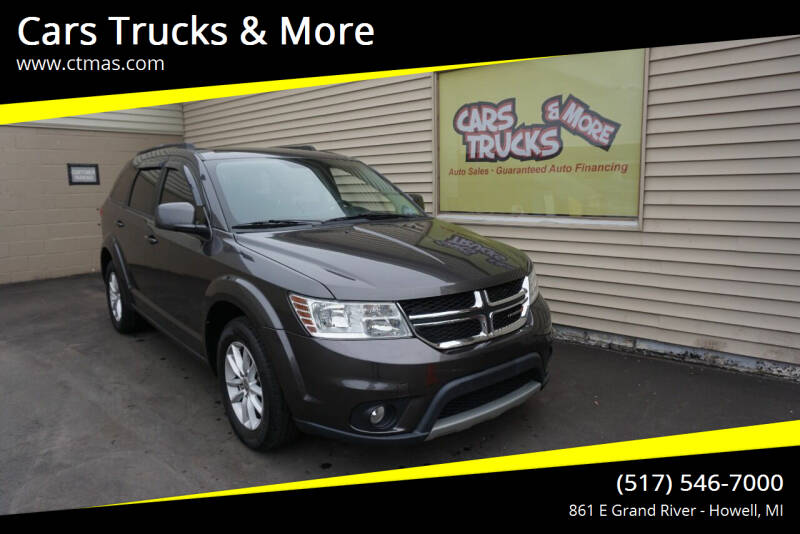 2017 Dodge Journey for sale at Cars Trucks & More in Howell MI