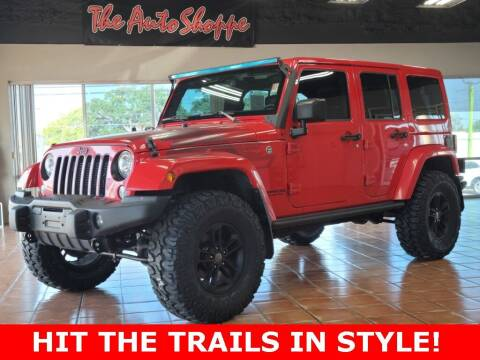 2017 Jeep Wrangler Unlimited for sale at The Auto Shoppe in Springfield MO