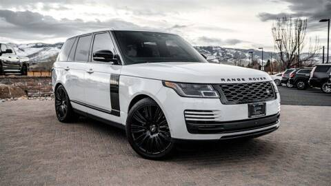 2019 Land Rover Range Rover for sale at MUSCLE MOTORS AUTO SALES INC in Reno NV