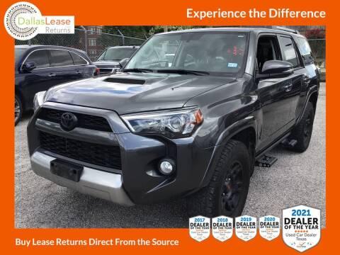 2018 Toyota 4Runner for sale at Dallas Auto Finance in Dallas TX
