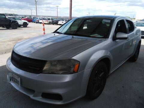 2012 Dodge Avenger for sale at Buy Here Pay Here Lawton.com in Lawton OK