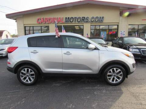 2015 Kia Sportage for sale at Cardinal Motors in Fairfield OH