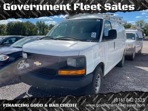2017 Chevrolet Express Cargo for sale at Government Fleet Sales in Kansas City MO