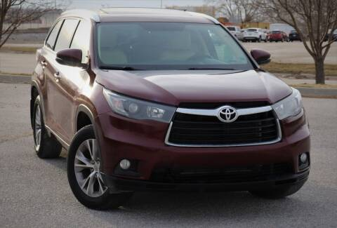 2014 Toyota Highlander for sale at Big O Auto LLC in Omaha NE