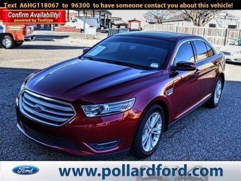 2017 Ford Taurus for sale at South Plains Autoplex by RANDY BUCHANAN in Lubbock TX