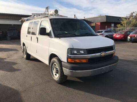 2015 Chevrolet Express Passenger for sale at CARGO VAN GO.COM in Shakopee MN
