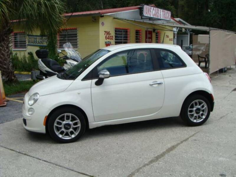 2012 FIAT 500 for sale at VANS CARS AND TRUCKS in Brooksville FL