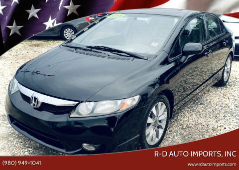 2011 Honda Civic for sale at R-D AUTO IMPORTS, Inc in Charlotte NC