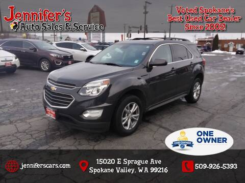 2016 Chevrolet Equinox for sale at Jennifer's Auto Sales in Spokane Valley WA